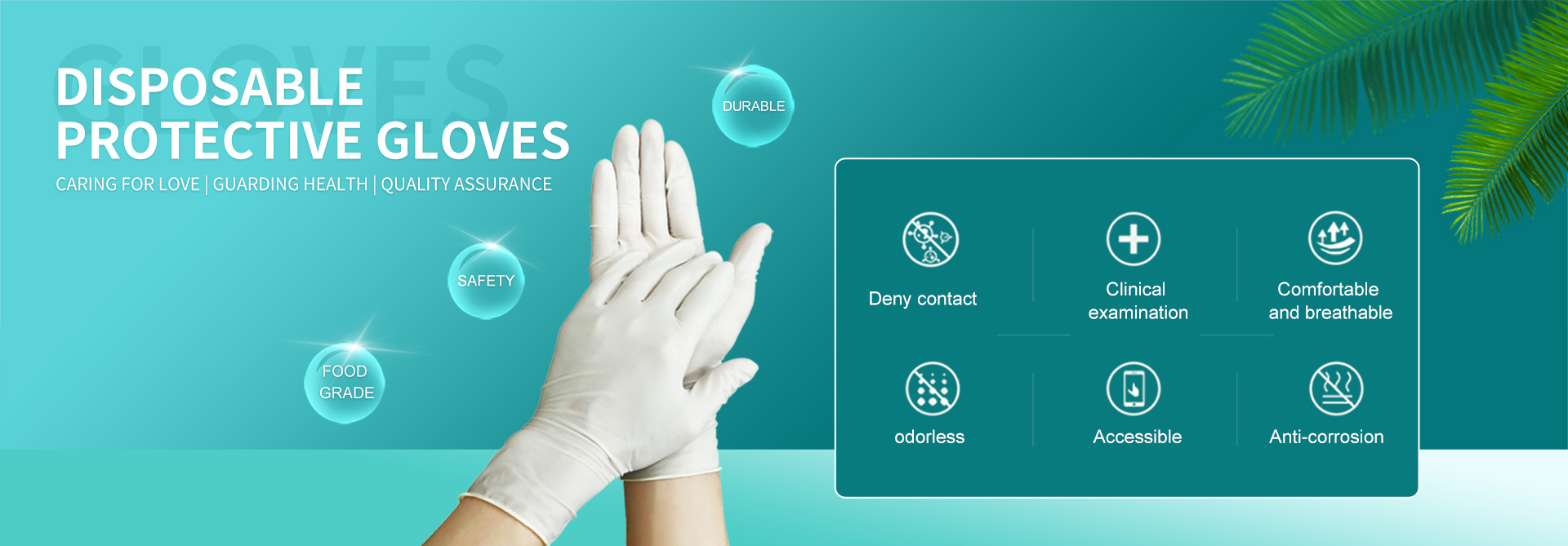 Disposable  protective gloves --Home